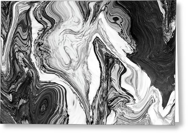 Marble Candy Greeting Card by Mindy Sommers