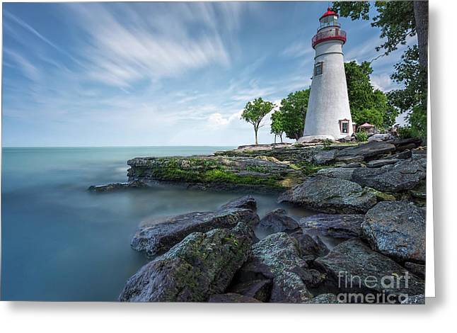 Marblehead Breeze Greeting Card by James Dean