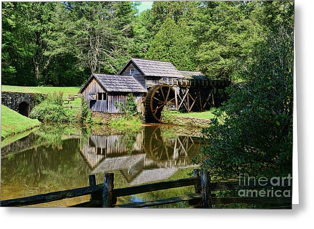 Marby Mill 2 Greeting Card by Paul Ward