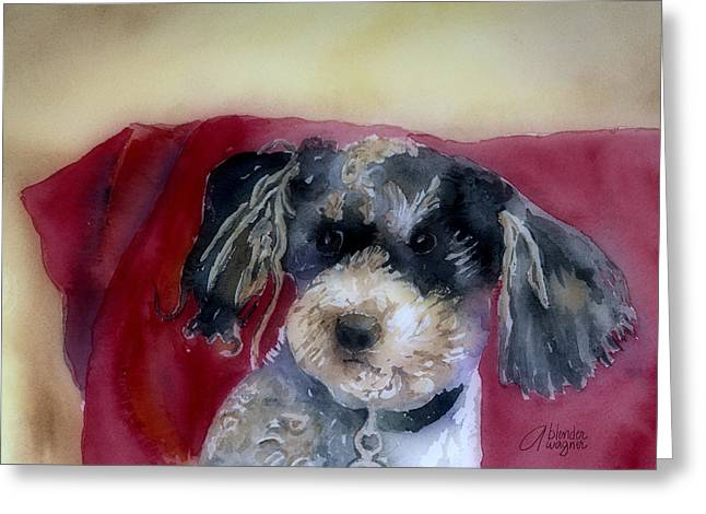 Rescue Dogs Greeting Cards - Marci Greeting Card by Arline Wagner