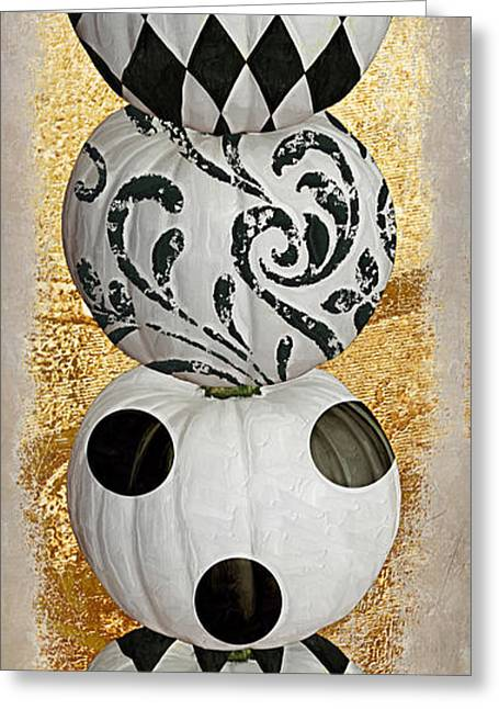 Mardi Gras Halloween Greeting Card by Mindy Sommers