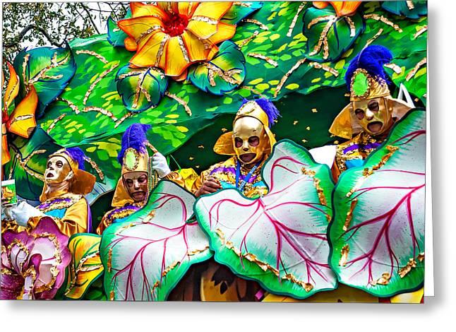 Mardi Gras - New Orleans 4 Greeting Card by Steve Harrington
