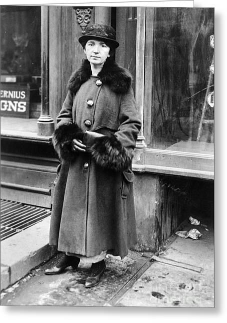 Margaret Sanger Greeting Card by Granger