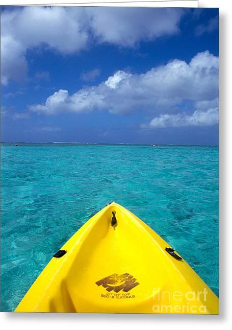Mariana Greeting Cards - Mariana Islands, Saipan Greeting Card by Greg Vaughn - Printscapes