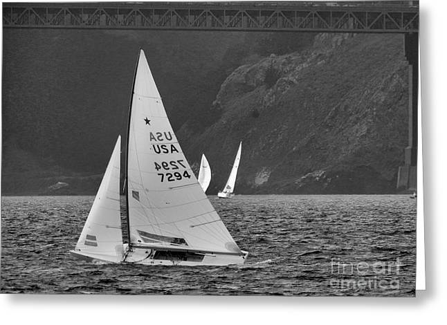 Best Sailing Photos Greeting Cards - Marianne Greeting Card by Scott Cameron
