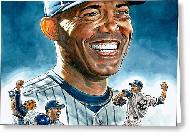 Mariano Greeting Card by Tom Hedderich