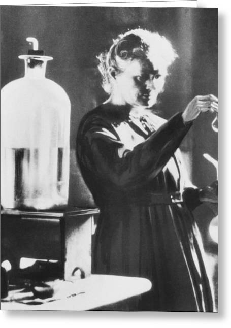 Discoverer Greeting Cards - Marie Curie, A Polish-french Chemist Greeting Card by Ria Novosti