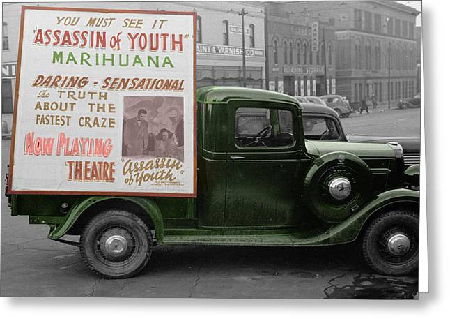 Marijuana Photographs Greeting Cards - Marijuana Greeting Card by Andrew Fare