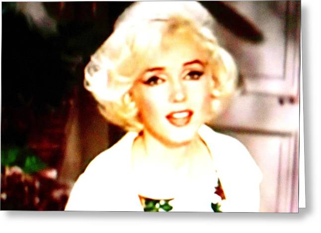 Monica Warhol Greeting Cards - Marilyn Greeting Card by Dietmar Scherf