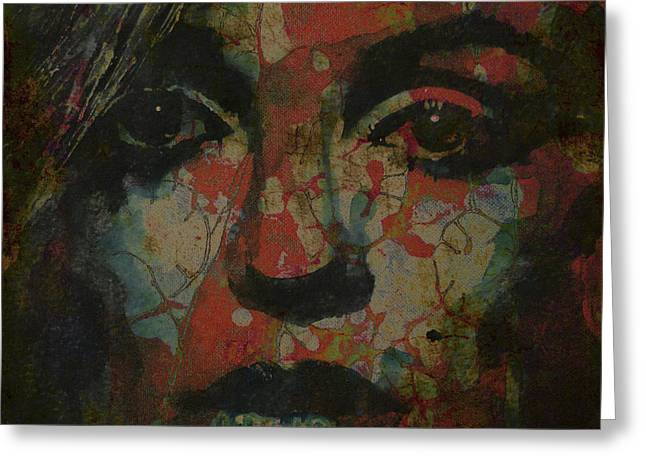 Hollywood Legend Greeting Cards - Marilyn Monroe @ I Need You Greeting Card by Paul Lovering