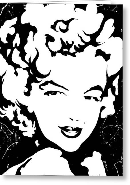 Norma Jean Greeting Cards - Marilyn Monroe Greeting Card by Curtiss Shaffer
