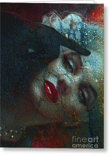 Marilyn St 2 Greeting Card by Theo Danella