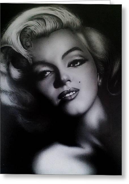 Marilyn Greeting Card by Stephen Owsinski