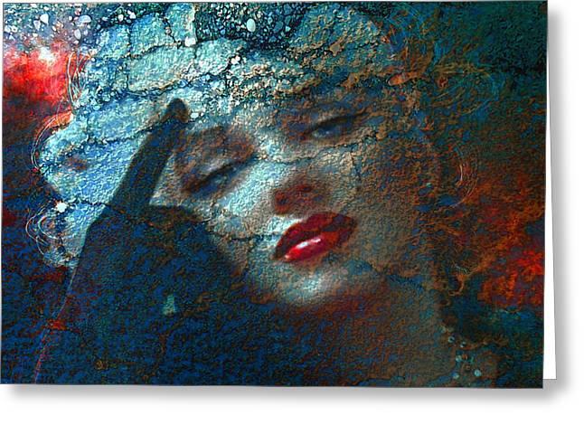Marilyn Str. 1 Greeting Card by Theo Danella