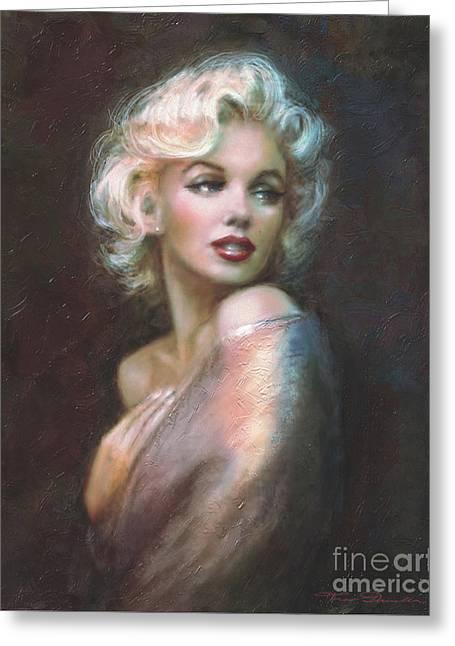 Marilyn Ww  Greeting Card by Theo Danella