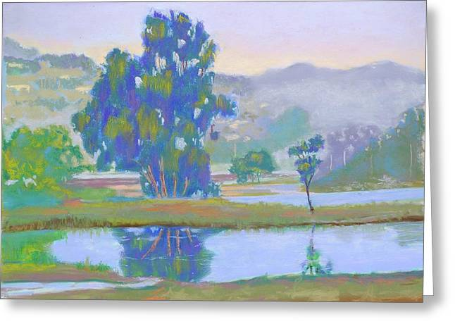 Marin County Pastels Greeting Cards - Marin Lagoon Greeting Card by Dan Scannell