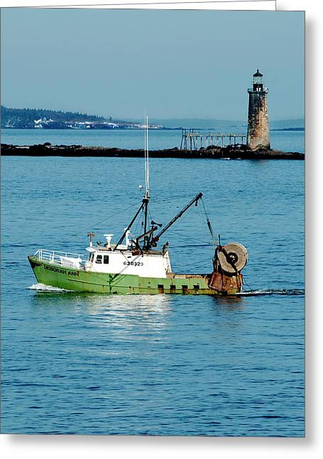 Maritime Greeting Card by Greg Fortier