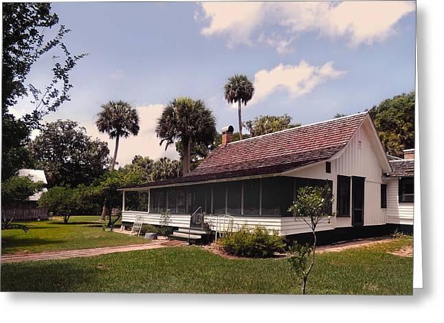 Jacksonville Greeting Cards - Marjorie Kinnan Rawlings Home Greeting Card by Gordon Beck