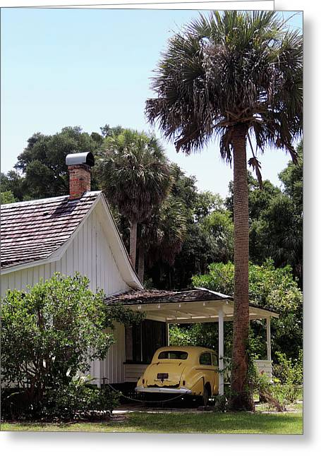 Historic Home Greeting Cards - Marjorie Kinnan Rawlings Home II Greeting Card by Gordon Beck