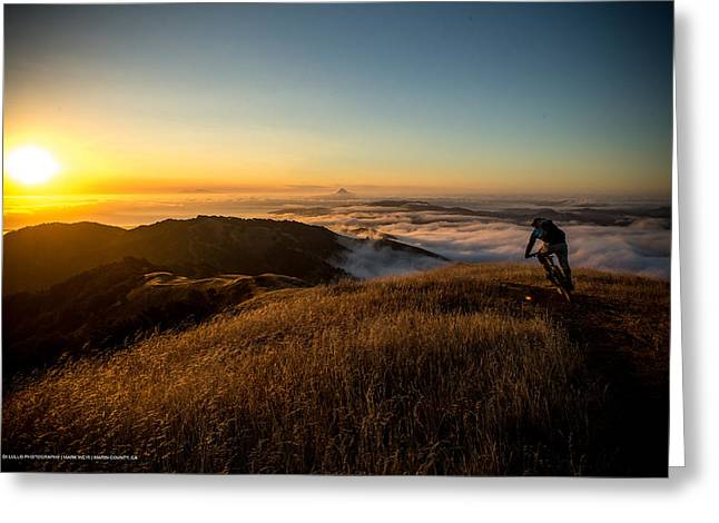 Marin County Greeting Cards - Mark Weir in Novato California Greeting Card by Ale Di Lullo