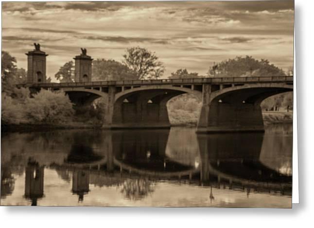 Market Street Bridge Greeting Card by Jim Cook