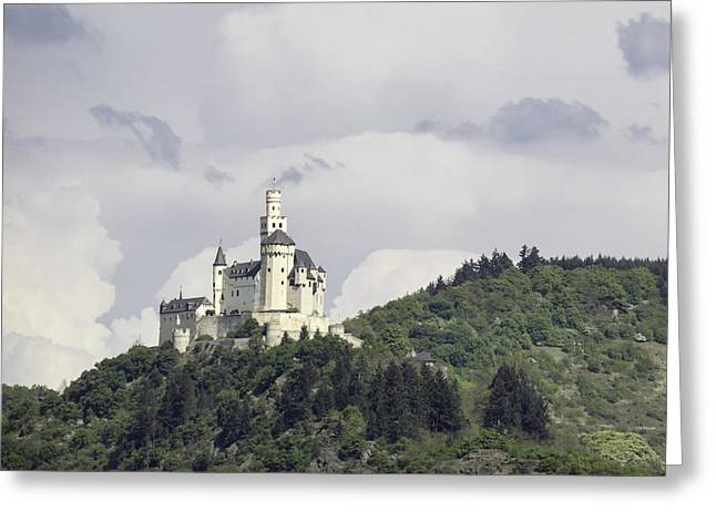 Spay Greeting Cards - Marksburg Castle 28 Greeting Card by Teresa Mucha