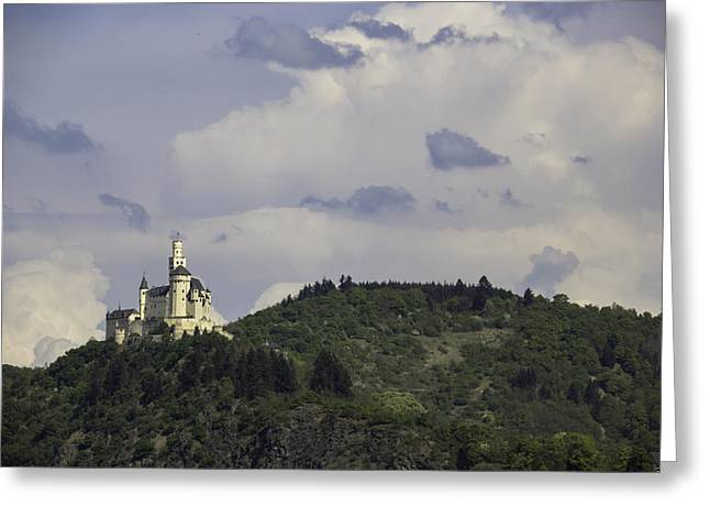Spay Greeting Cards - Marksburg Castle 29 Greeting Card by Teresa Mucha