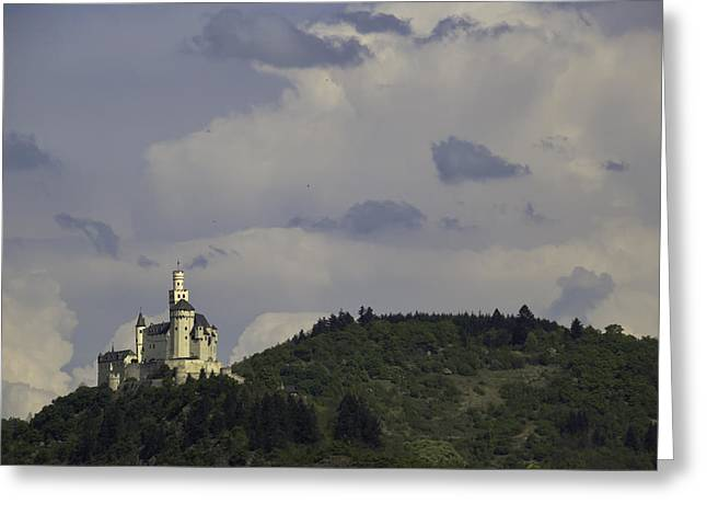 Spay Greeting Cards - Marksburg Castle 30 Greeting Card by Teresa Mucha