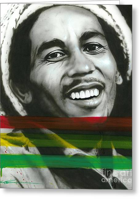 Peace Framed Prints Greeting Cards - Marley Greeting Card by Christian Chapman Art