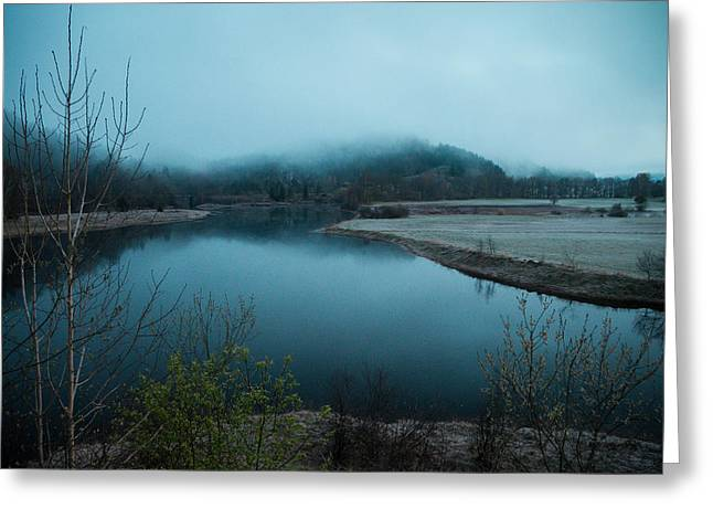 Kjg Greeting Cards - Marnadal early in the morning Greeting Card by Mirra Photography