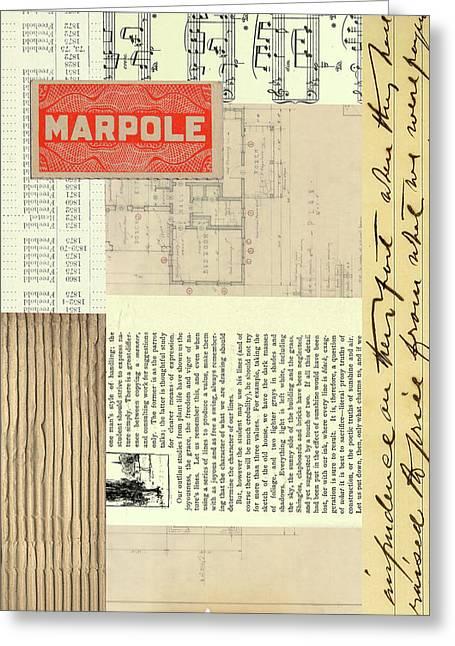 Marpole Greeting Card by Nancy Merkle