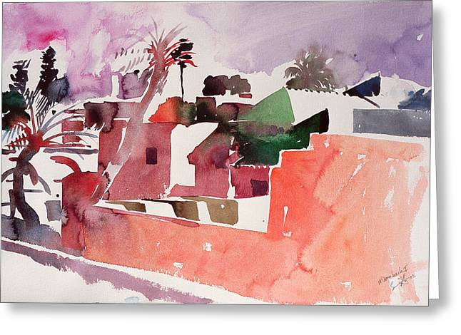 Africa-north Greeting Cards - Marrakech One Greeting Card by Simon Fletcher
