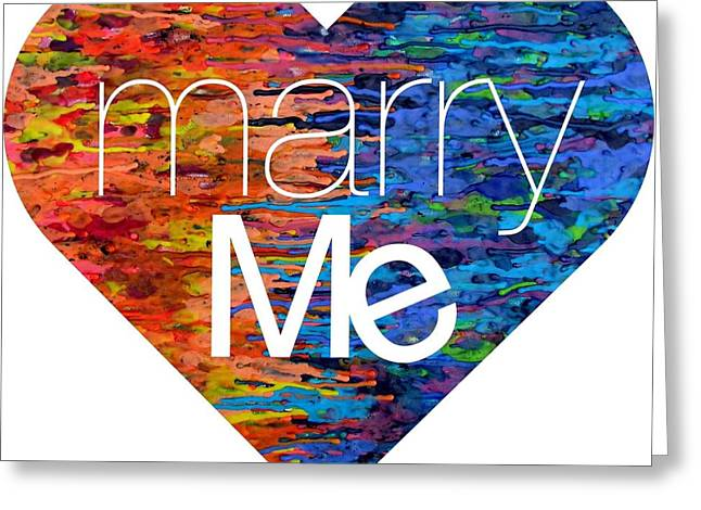 Will You Marry Me Greeting Cards - Marry Me Greeting Card by Smith and Lou