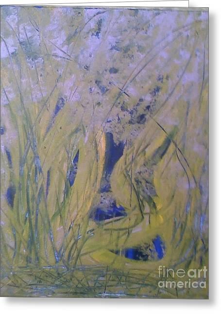 Marsh Moment Greeting Card by Leslie Revels Andrews