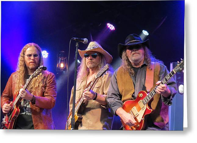Gospel Greeting Cards - Marshall Tucker Band - 01 Greeting Card by Julie Turner