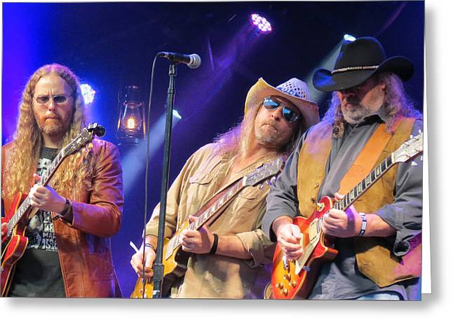 Gospel Greeting Cards - Marshall Tucker Band - 02 Greeting Card by Julie Turner