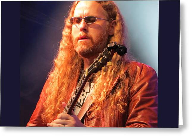 Gospel Greeting Cards - Marshall Tucker Band - 03 Greeting Card by Julie Turner