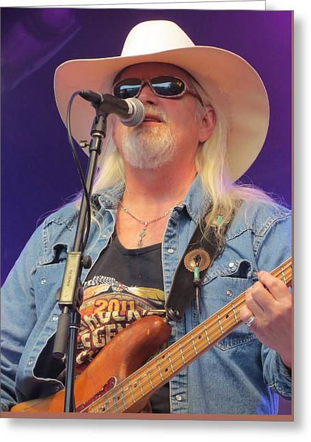 Gospel Greeting Cards - Marshall Tucker Band - 04 Greeting Card by Julie Turner