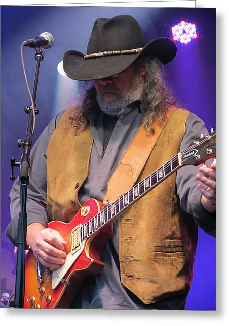 Gospel Greeting Cards - Marshall Tucker Band - 06 Greeting Card by Julie Turner