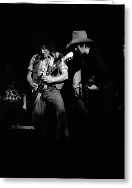 Elvin Greeting Cards - Marshall Tucker Winterland 1975 #28 with Elvin Bishop Greeting Card by Ben Upham
