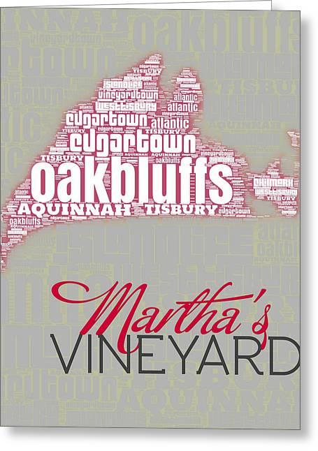 Martha's Vineyard 3 Greeting Card by Brandi Fitzgerald