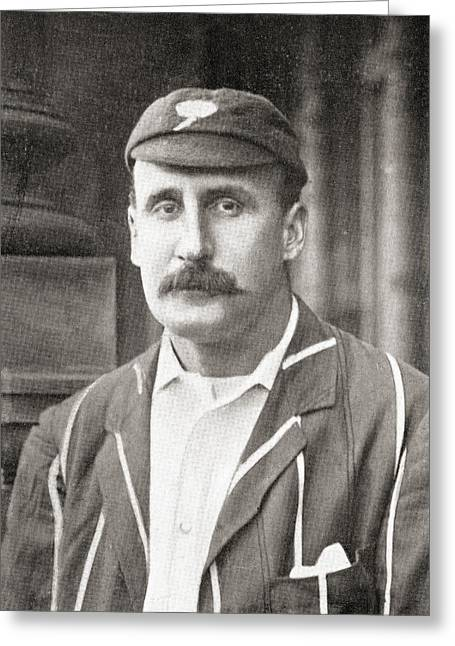 Cricketers Greeting Cards - Martin Bladen Hawke, 7th Baron Hawke Of Greeting Card by Vintage Design Pics