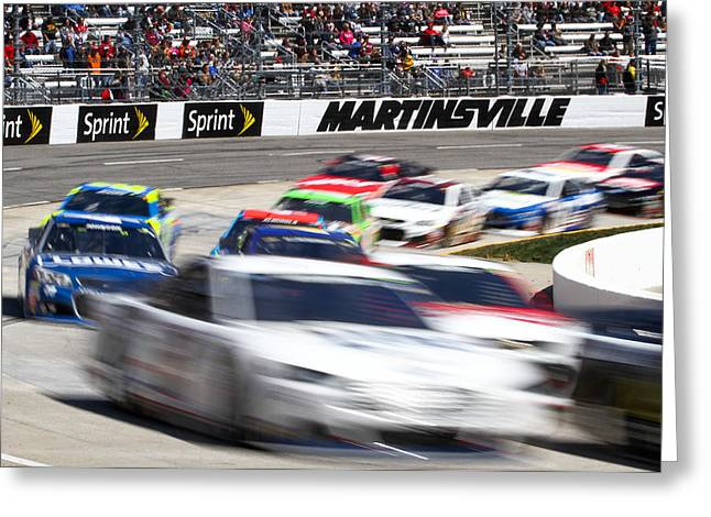 Martinsville Greeting Card by Jonathan McCoy