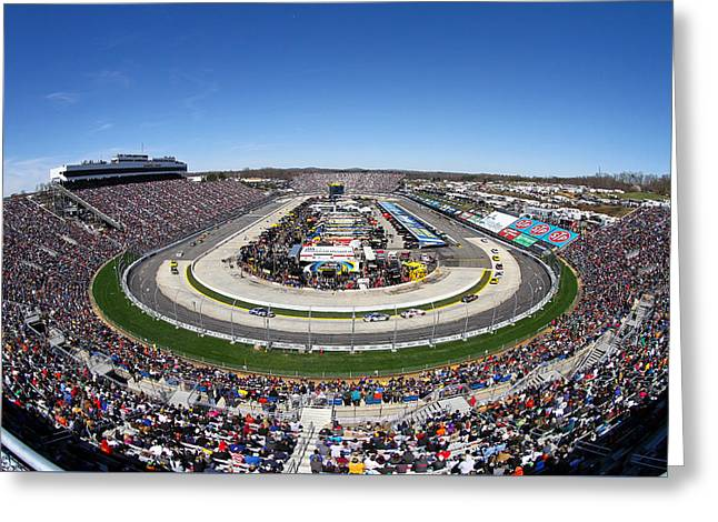 Martinsville Speedway Greeting Card by Jonathan McCoy