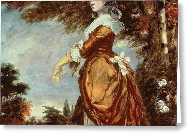 Mary Amelia First Marchioness of Salisbury Greeting Card by Sir Joshua Reynolds