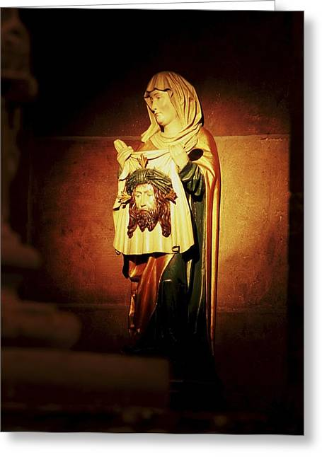 St Mary Magdalene Photographs Greeting Cards - Mary Magdalene  Greeting Card by Chris  Brewington Photography LLC