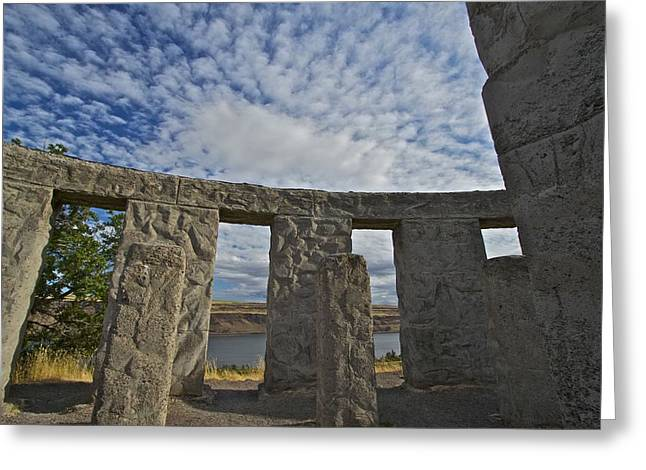 Monolith Greeting Cards - Maryhill Stonehenge 11 Greeting Card by Todd Kreuter