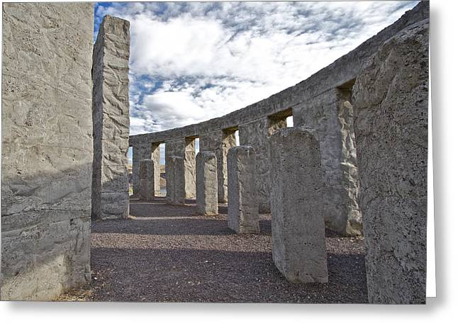Monolith Greeting Cards - Maryhill Stonehenge 5 Greeting Card by Todd Kreuter
