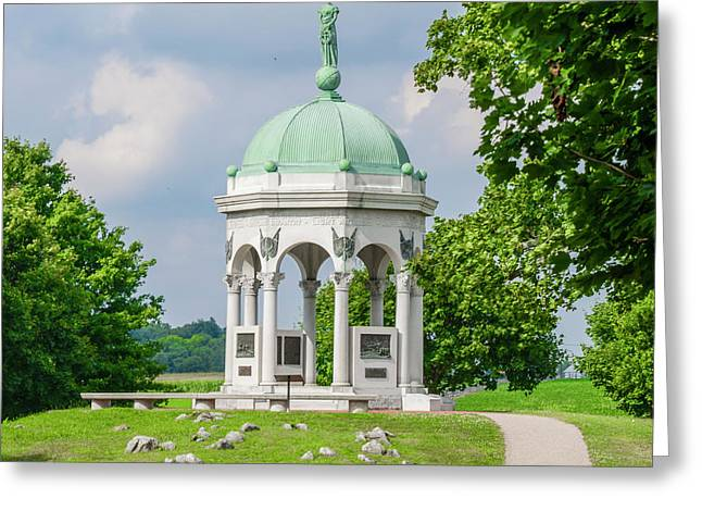 Maryland Monument At The Antietam National Battlefield Greeting Card by Bill Cannon