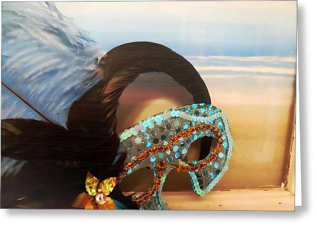 Mascarade Greeting Card by JAMART Photography